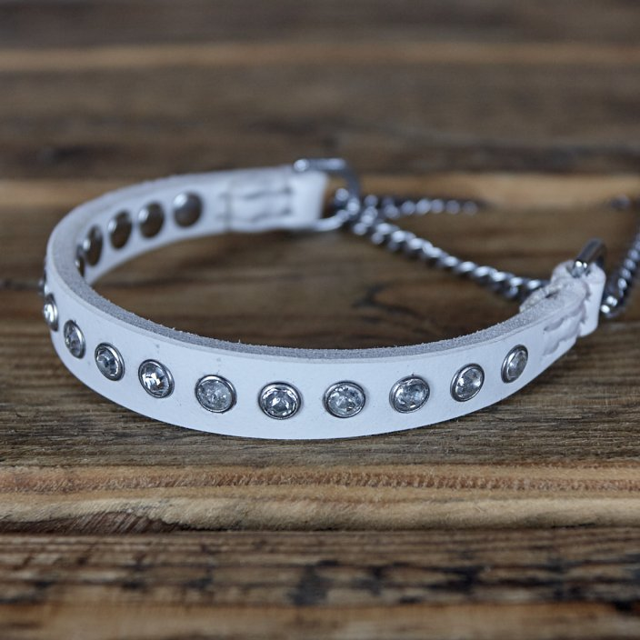 Swarovski Puppy Collar and Lead Set