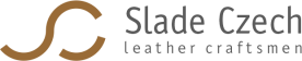 Exhibit half check collar for Greyhounds, leather chic | Slade Czech