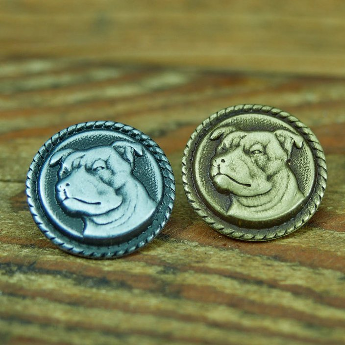 Staffordshire Bull Terrier Badge