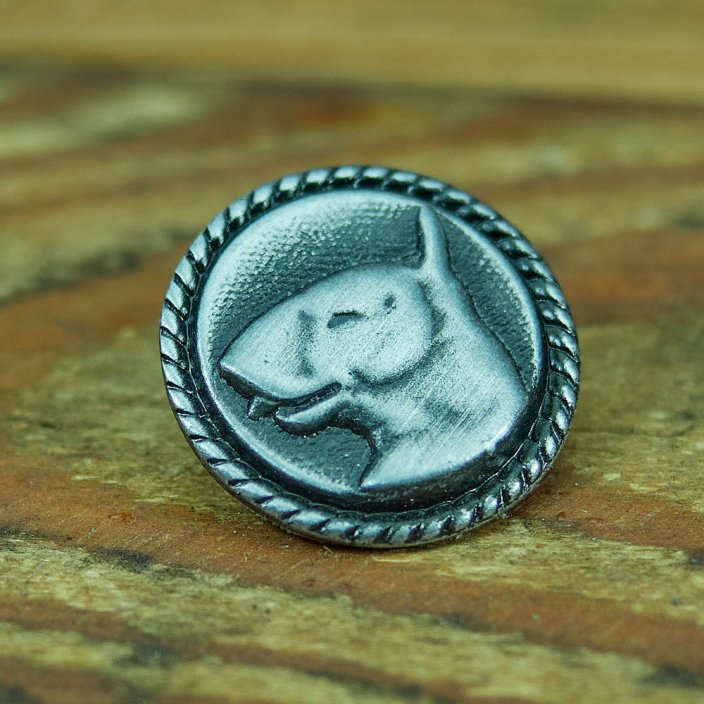 English Bull Terrier Badge