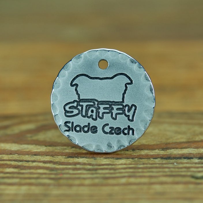 Plate Dog Tag