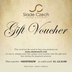 Gift voucher in any value